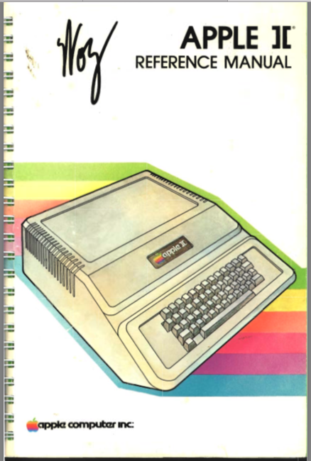 Apple II Reference Manual